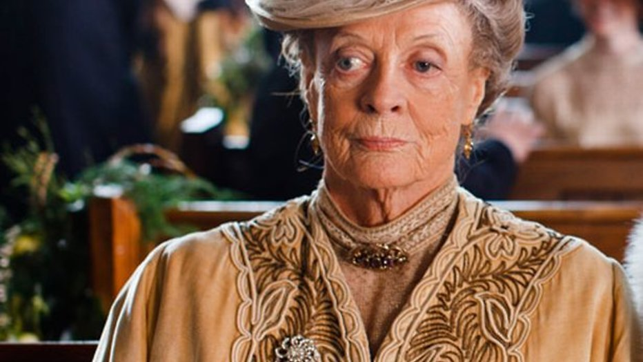 Maggie Smith stopt met Downton Abbey