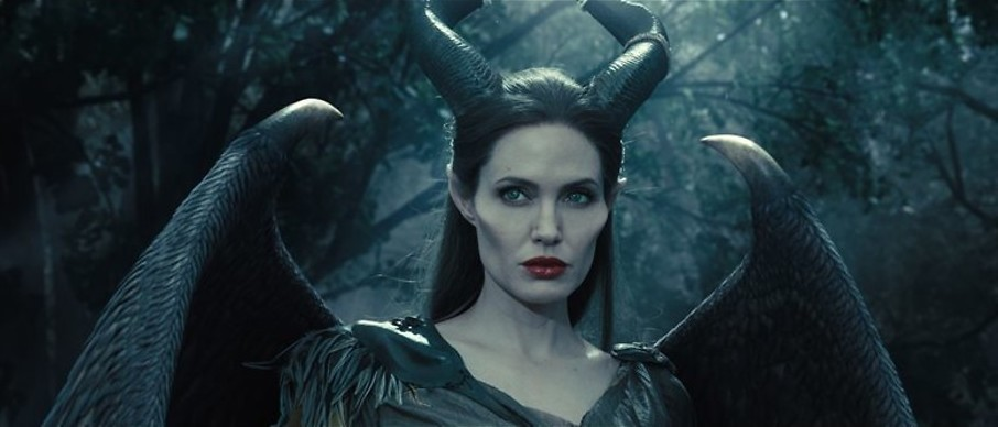 Angelina Jolie is boos in Maleficent
