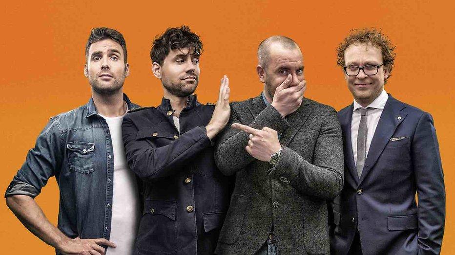 Nieuwe show Nick, Simon, Jeroen en Dennis heeft een naam