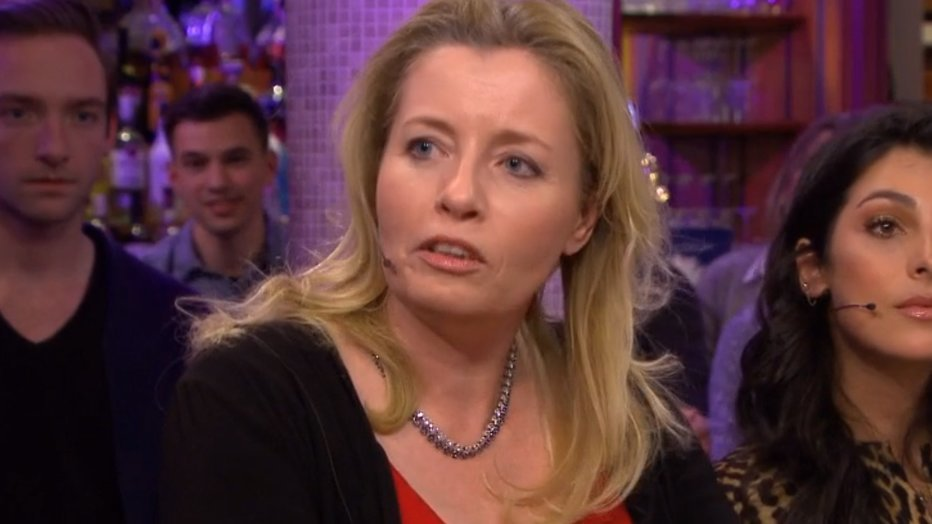 Marianne Zwagerman botst met Humberto Tan in RTL Late Night