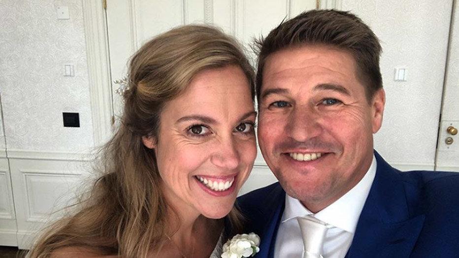 Martijn Krabbé en Deborah Wietzes getrouwd