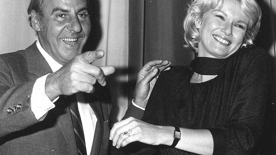 Martine Bijl en Willem Duys