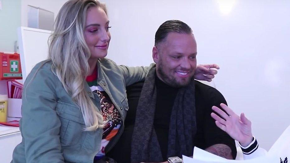 Michael van der Plas presenteert nieuwe vriendin Naomi