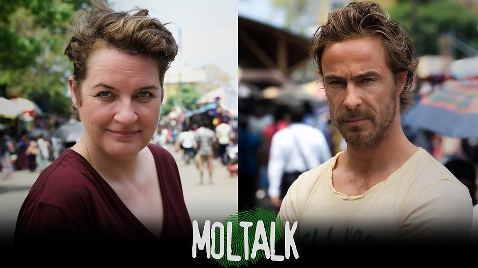 Chris Zegers en Margriet van der Linden presenteren MolTalk 2017
