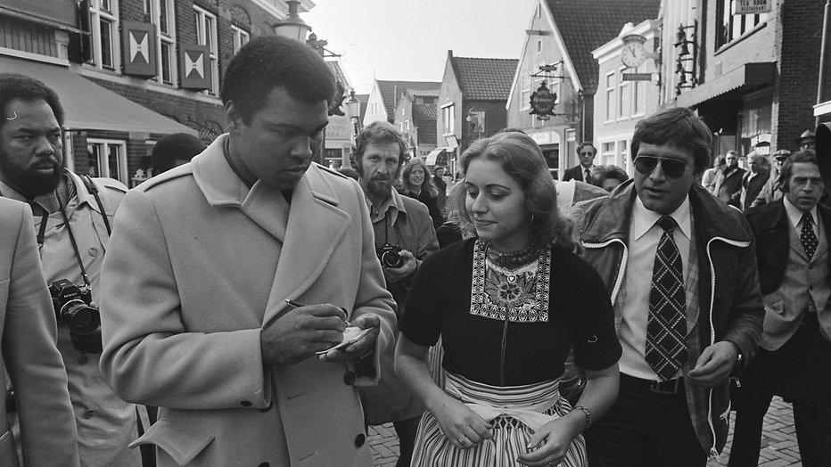 Andere Tijden Sport herhaalt aflevering met Muhammad Ali