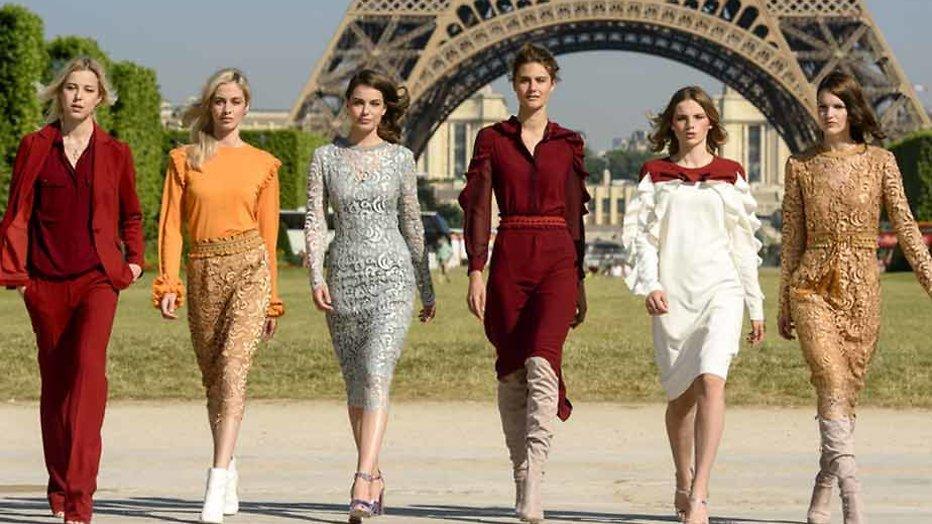 RTL 5 geeft kijkje in het modellenleven van Parijs
