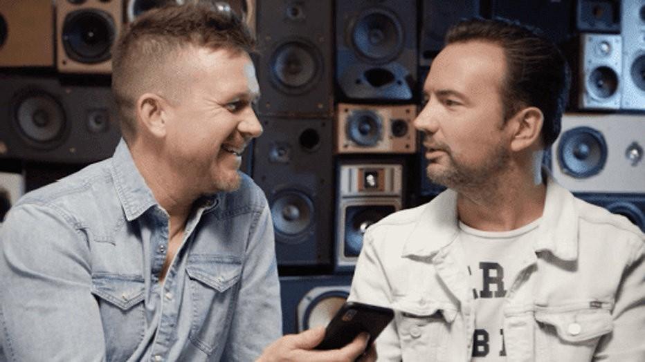 Johnny de Mol en Gerard Ekdom