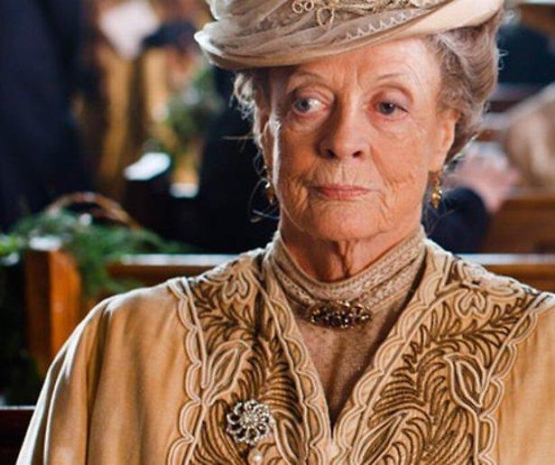 Maggie Smith stopt met Downton Abbey