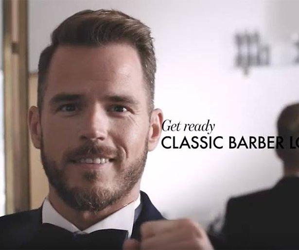 Maak je klaar voor het Gouden Televizier-Ring Gala: Classic Barber Look