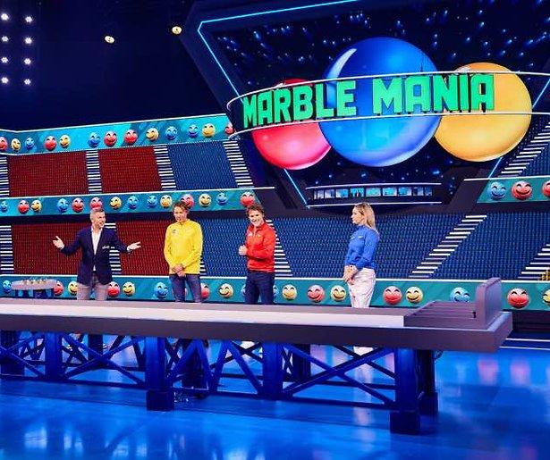 De TV van gisteren: Marble Mania best bekeken op primetime