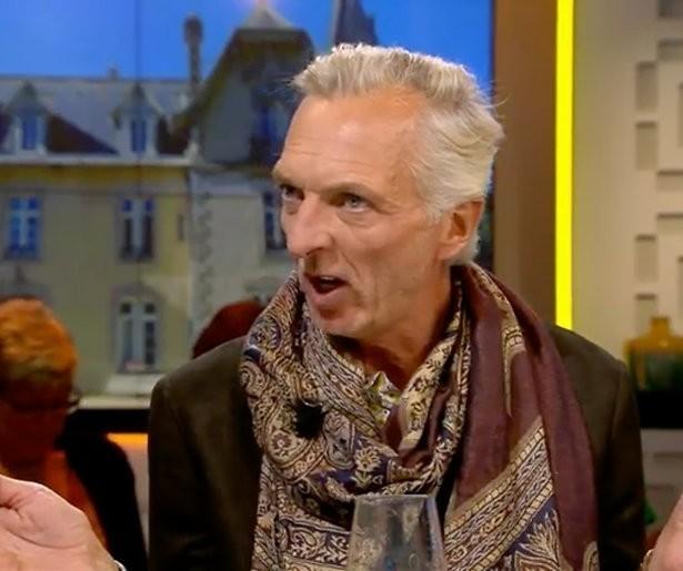 Martien Meiland oefent speech voor Televizier-Ring al