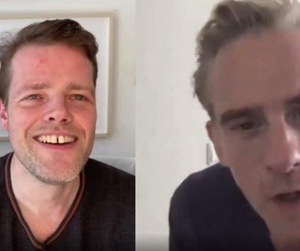 Martijn Koning en Art Rooijakkers maken samen zaterdagavondshow