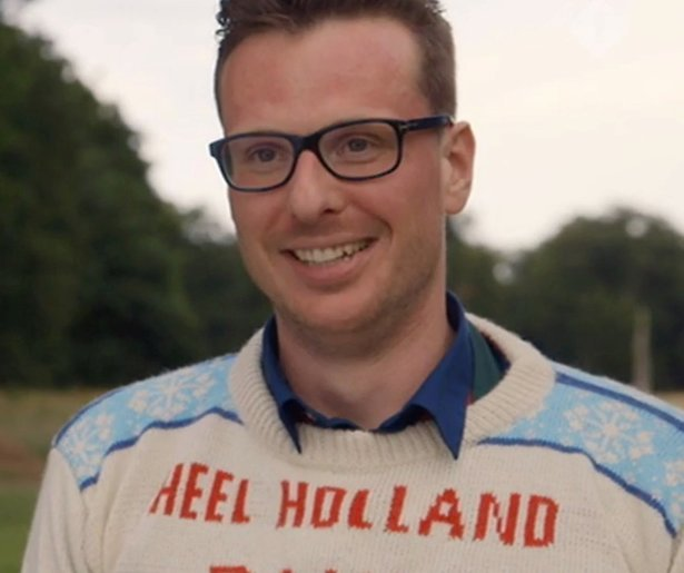 Michiel wint kersteditie Heel Holland Bakt