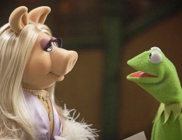Kermit en Miss Piggy uit elkaar