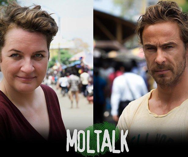Chris Zegers en Margriet van der Linden presenteren MolTalk 2017