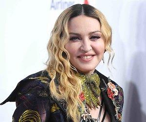 Madonna treedt op bij het Eurovisie Songfestival