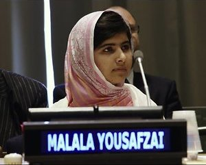 Activiste Malala in speciale RTL Late Night