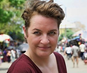 Margriet van der Linden presenteert taalquiz De Tafel van Taal