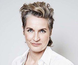 Margriet van der Linden maakt kerstversie van talkshow M