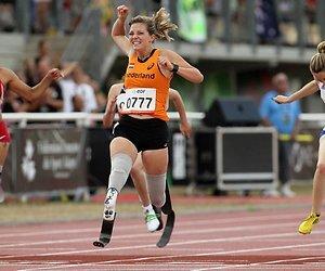 Finale 200 meter Marlou van Rhijn live op NPO 3