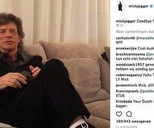 Videosnack: Mick Jagger zingt 'Heb je even voor mij?'