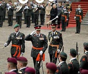 Uitreiking Militaire Willems-Orde live op televisie
