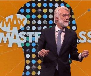 De TV van gisteren: MAX Masterclass trekt geen miljoenenpubliek