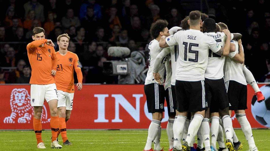 De TV van gisteren: 3,4 miljoen zien Oranje jammerlijk verliezen van Duitsland