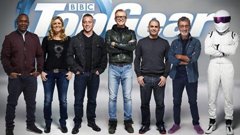 Ook Eddie Jordan en Sabine Schmitz bij Top Gear