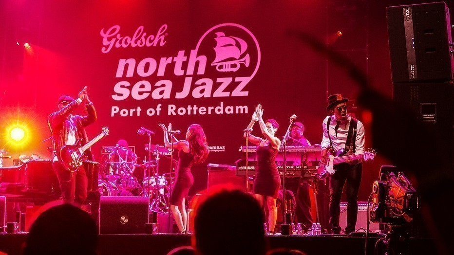 Legendes op het podium van North Sea Jazz