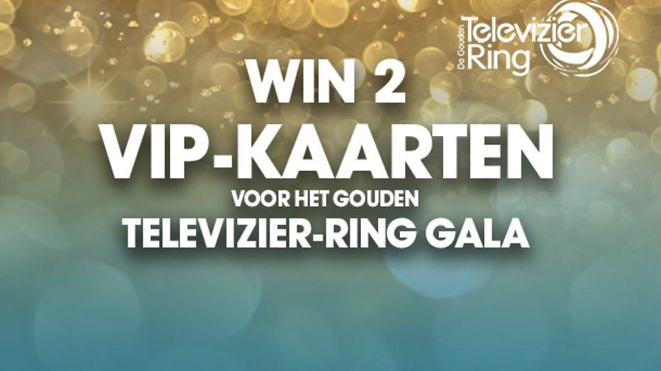Win 2 VIP-kaarten voor het Gouden Televizier-Ring Gala