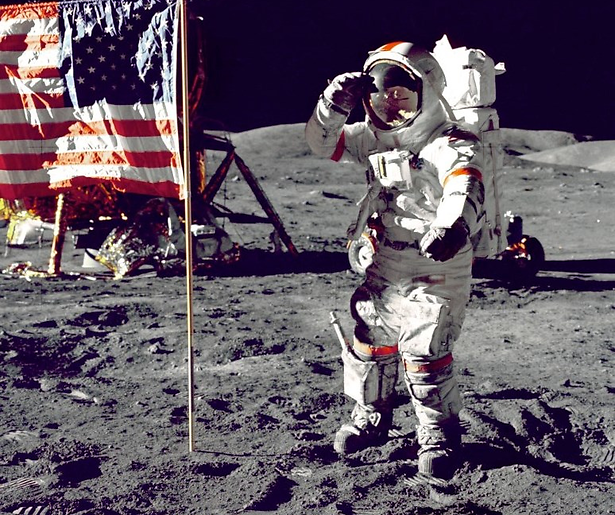 NASA viert 45-jarig jubileum maanlanding