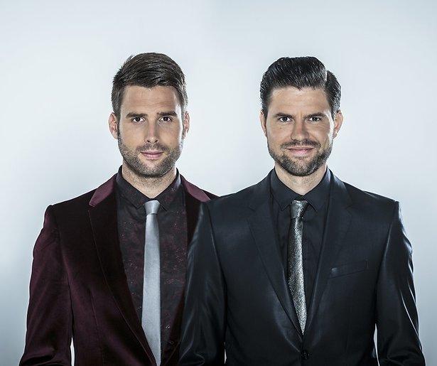 Uw gastheren bij Vrienden van Amstel Live: Nick en Simon