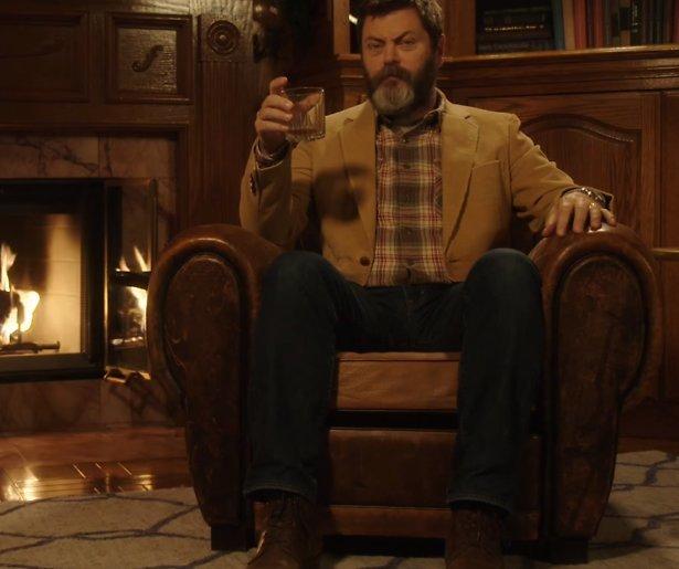 YouTube hit: Whisky drinken met Nick Offerman