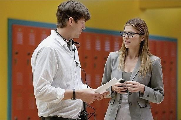 Ashton Kutcher deelt het bed met Natalie Portman