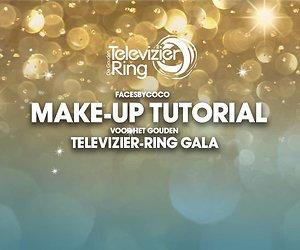 Vlogster Faces by Coco laat haar make-up zien voor het Gouden Televizier-Ring Gala