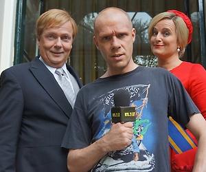 Maxim Hartman daagt koning Willem Alexander uit in Koefnoen