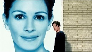 Superster Julia Roberts valt voor boekverkoper Hugh Grant