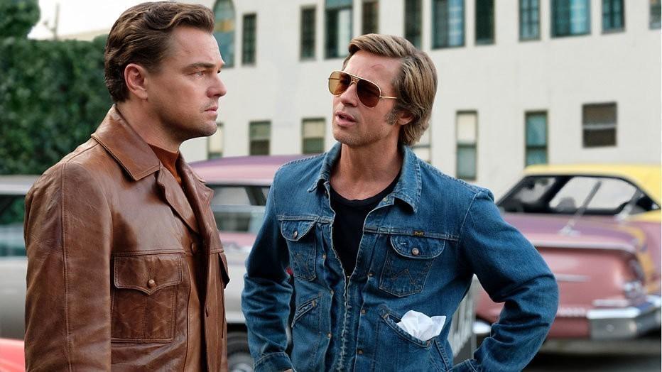 Leonardo DiCaprio en Brad Pitt