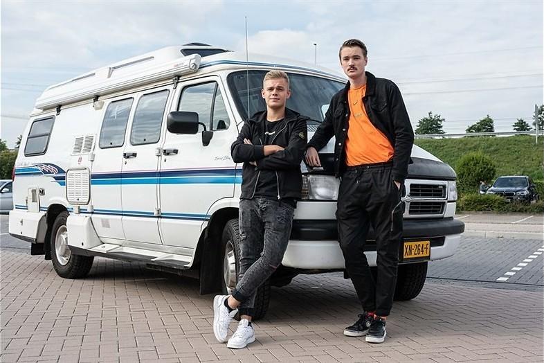 Dennis Schouten en Bram Krikke
