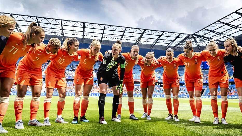 Oranje tegen Kameroen op het WK