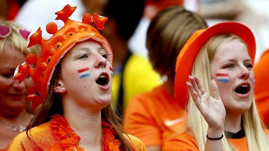 WK-finale, de Oranje Leeuwinnen in Lyon