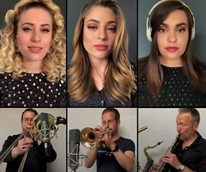 OG3NE zingt Disneyliedjes in thuisquarantaine