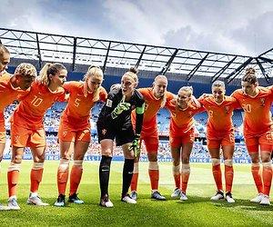 Oranje - Canada op Het WK Voetbal