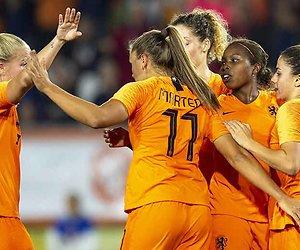 WK Kwalificatie vrouwenvoetbal: Zwitserland - Nederland