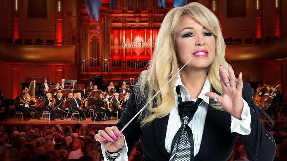 Patricia Paay 'met de kont naar achteren' in Maestro