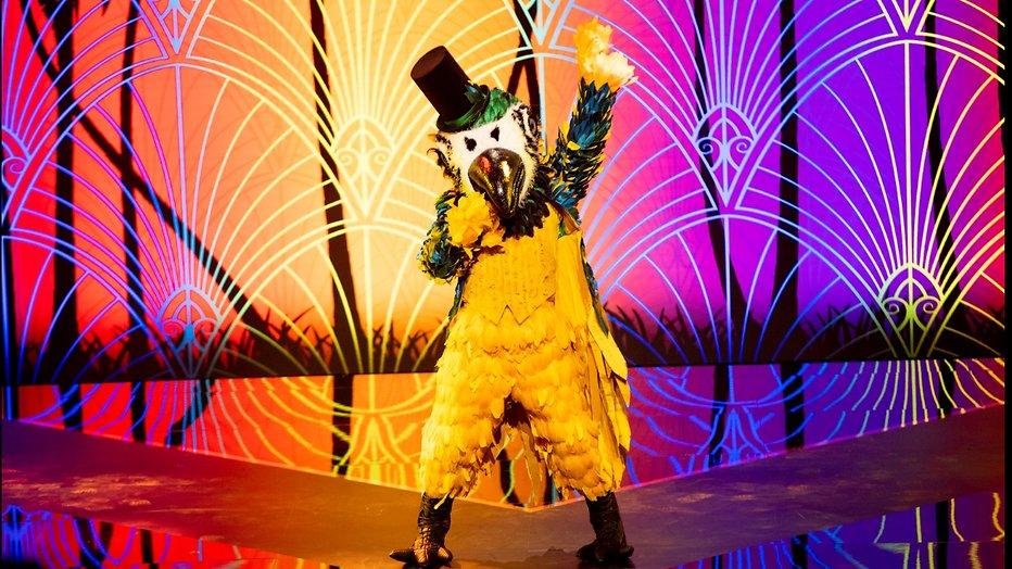 Twitter raadt identiteit eerste Masked Singer-kandidaat