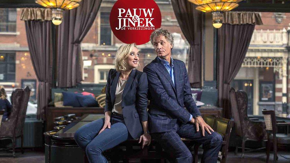 De TV van gisteren: Verkiezingsshow Pauw en Jinek begint redelijk