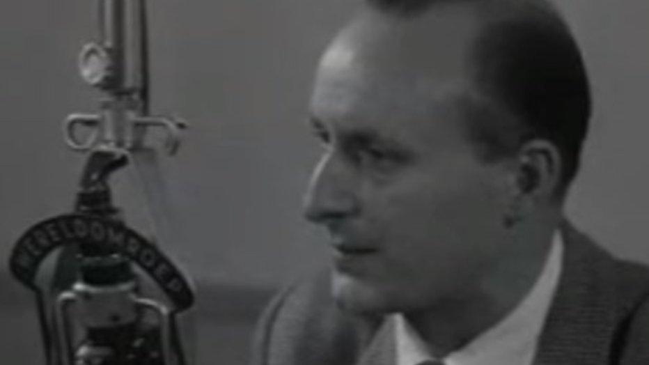 Voormalig nieuwslezer Pim Reijntjes (95) overleden