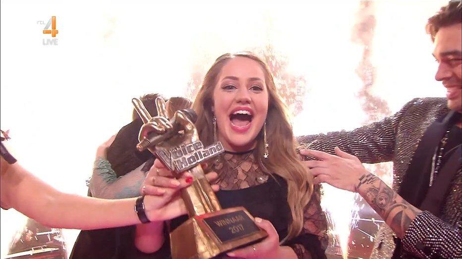 Pleun wint The Voice of Holland 2017